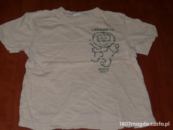 Koszulki, podkoszulki KOSZULKA BEZOWA