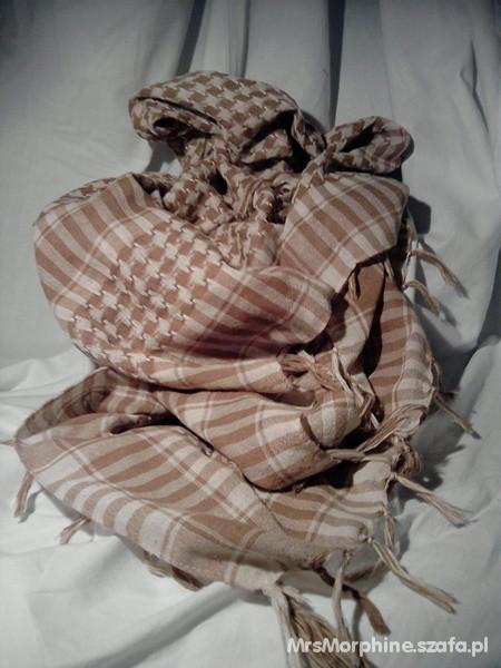 Chusty i apaszki Arafatka kolor karmelowy