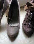 Zamszowe buciki