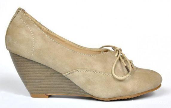 Koturny beżowe Kayla Shoe