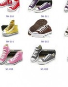 Converse kazdy rozmiar rozne kolory