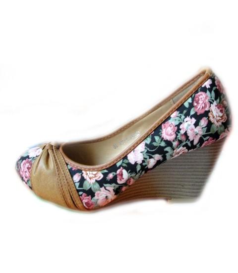 Koturny floral Emilia