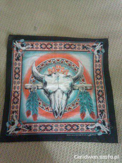 Chusty i apaszki Kolorowa bandana