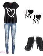 czarno I love NY