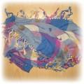 kolorowa apaszka