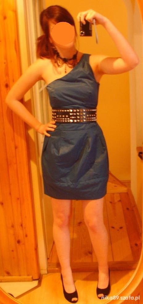 Na specjalne okazje Sukienka na jedno ramie