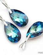 komplet svarovsky bizuteria diamenty