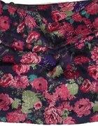 zara floral spódniczka mini zara