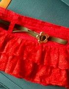 Mini spódniczka czerwona