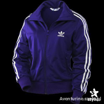 Adidas Firebird fioletowa