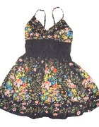 moja piekna modna sukienka floral