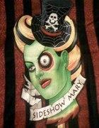 Mroczny tshirt firmy Darkside zombieshow emo goth...