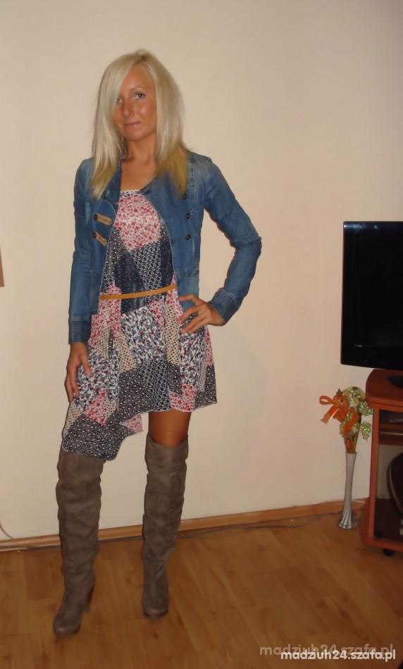 Marynarka jeans BERSHKA