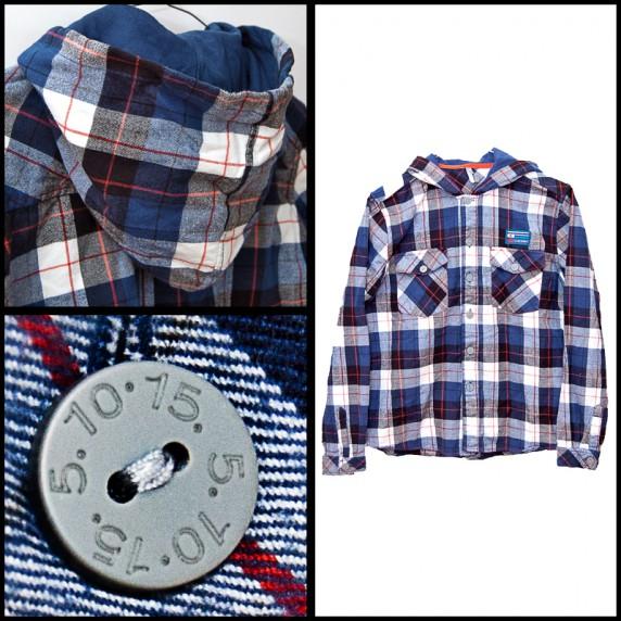 Koszulki, podkoszulki koszula z kapturem 5 10 15 roz 164