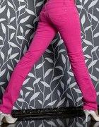sexy różowe rurki