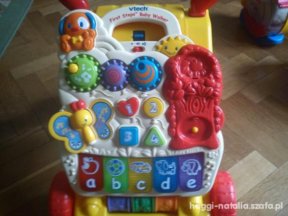 Zabawki chodzik jeździk vtech