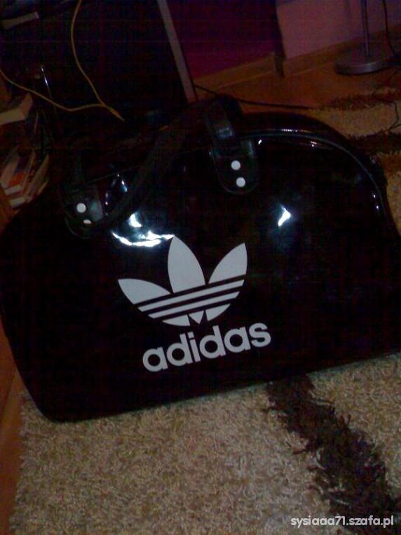 Sportowa Torba Adidas Stan Idealny Czarna Duża