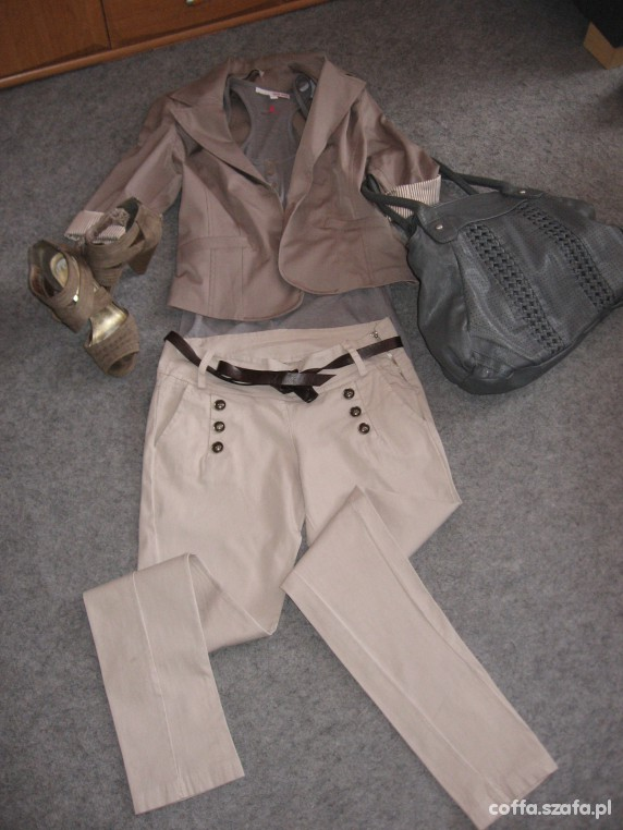 Eleganckie elegnacki strój