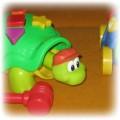 2 żółwie Fisher Price edukacyjny i zręcznościowy