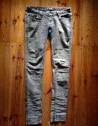 jeansy markurki rurki 40 30 treginsy TANIO M L