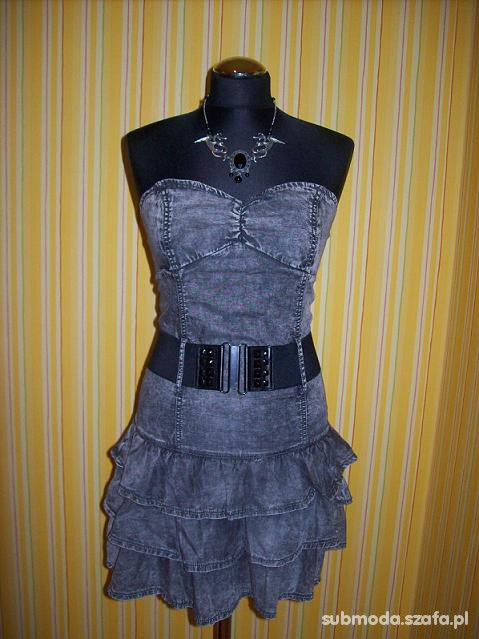 Mój styl Jeansowo mroczna stylizacja