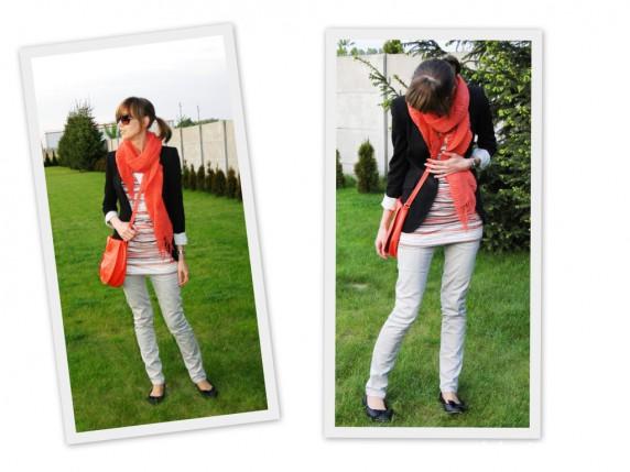 Mój styl W orange bez zasięgu