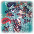 apaszka kwiaty