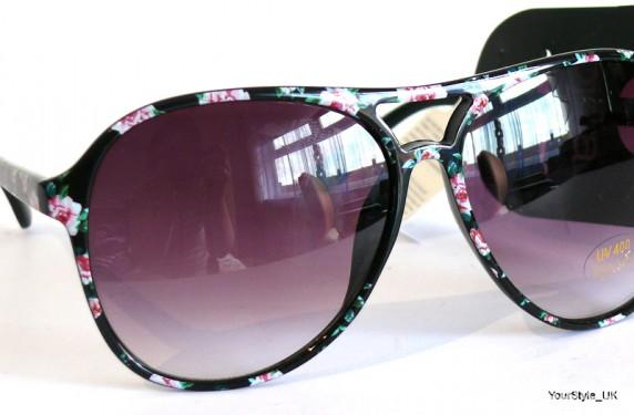 Okulary floral okulary NOWE