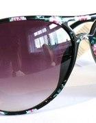 floral okulary NOWE