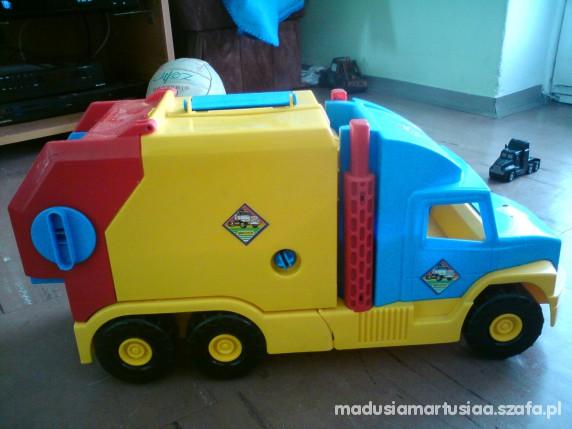 Zabawki super duża śmieciarka WADERa