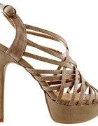 Sandały nude