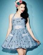 Sukienka marynarska