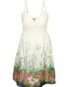 bon prix sukienka w kwiaty dzika łąka