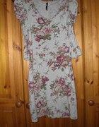 sukienka floral bershka