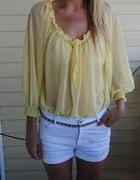 zolta bluzeczka