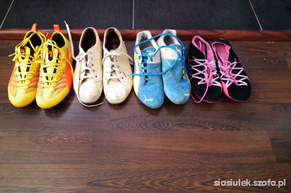Moja kolekcja butów część II w Sportowe Szafa.pl