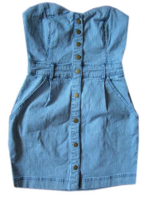 Sukienka jeans S