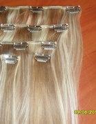 Wlosy clip on naturalne