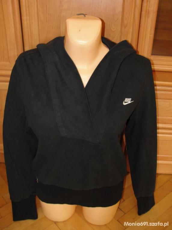 NIKE czarna bluza z kapturem r L w Bluzy Szafa.pl