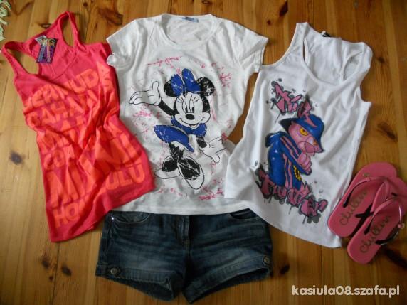 Sportowe Letnie bluzeczki