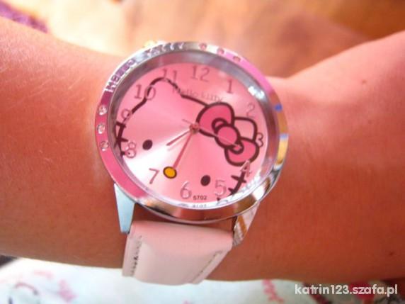 hello kitty zegarek