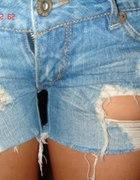Spodenki szorty jeansowe cena z wysyłką