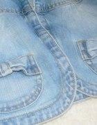 Jeansowe bolerko...