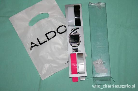 Zegarki ALDO zegarek zeberka fluo diamenty TOPSHOP look