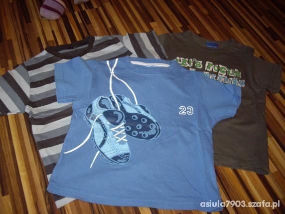 Koszulki, podkoszulki koszulki chłopięce