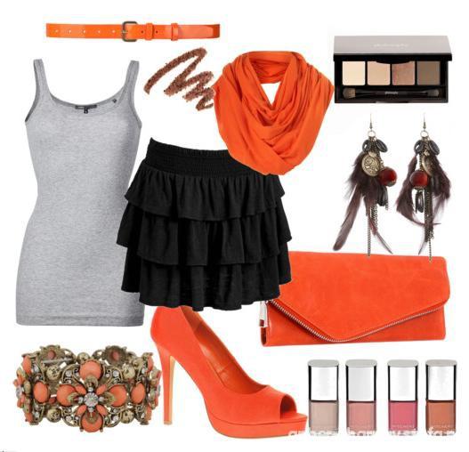 Imprezowe pomarańczowo