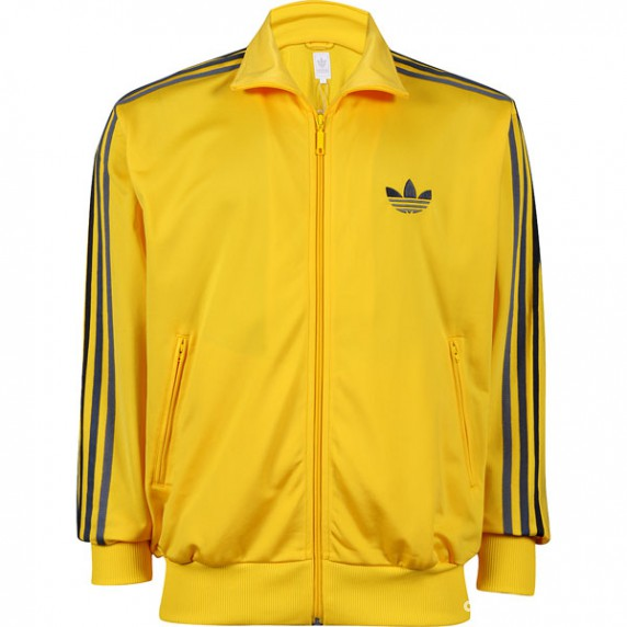 adidas firebird yellow