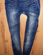 Ciemne jeansy bershka lub stradivarius