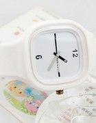 Biały zegarek jelly watch...