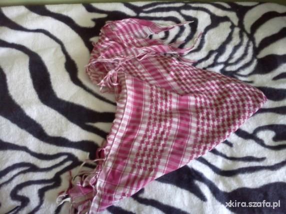 Chusty i apaszki Różowa arafatka 110cm x 110cm